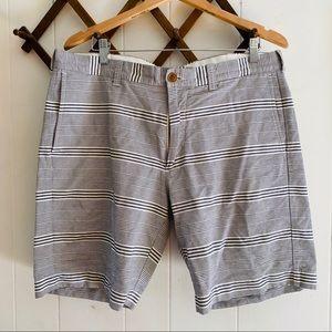 J Crew Gramercy Striped Casual Shorts
